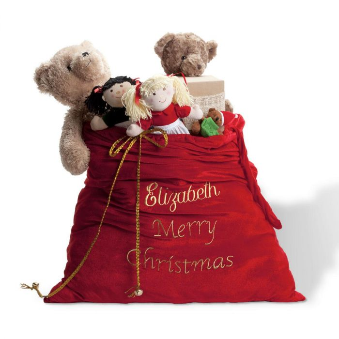 Deluxe Personalized Santa Sack