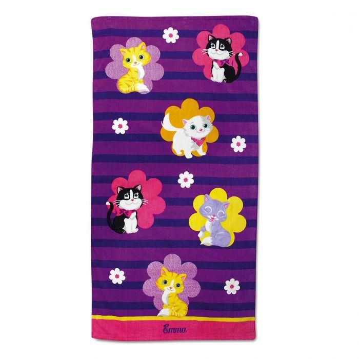 Kitten Cuties Personalized Towel Lillian Vernon