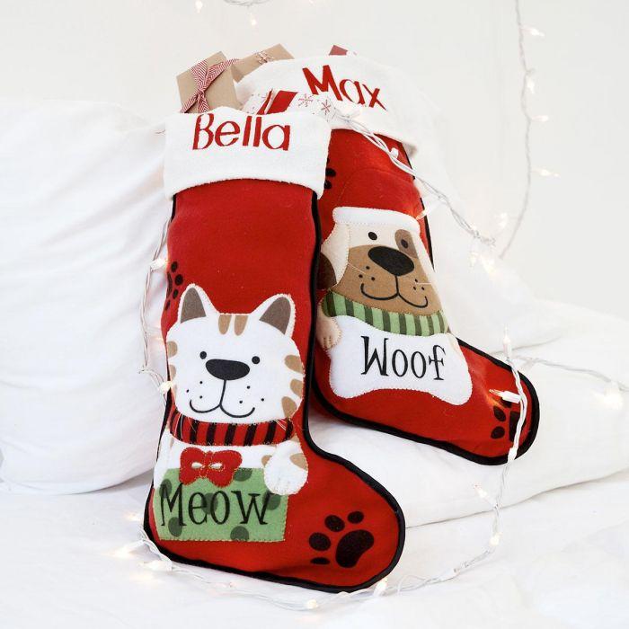 Pet Personalized Christmas Stocking