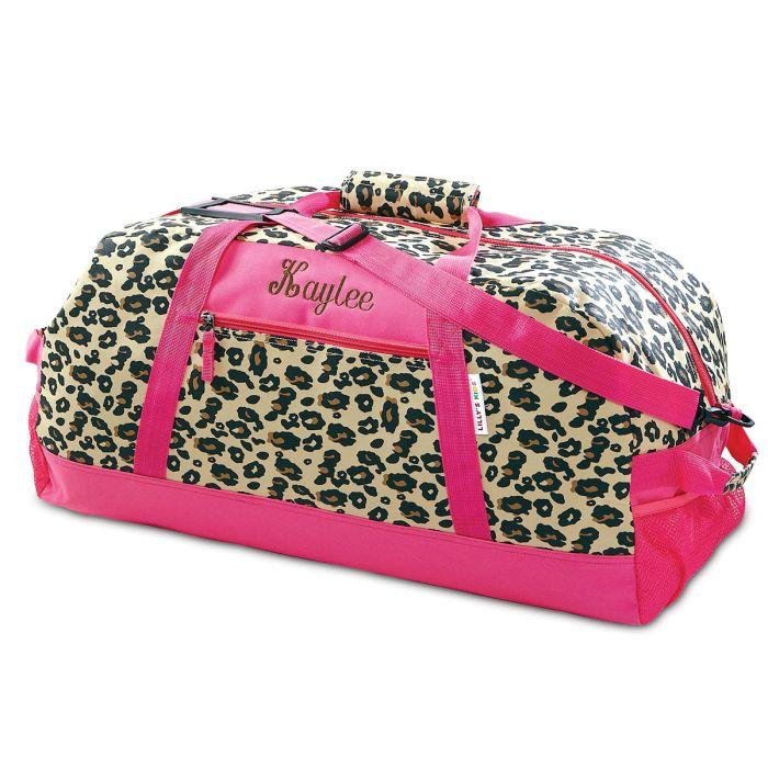 "23"" Leopard Spots Duffel Bag"