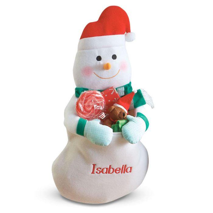 Snowman Hanging Gift Bag