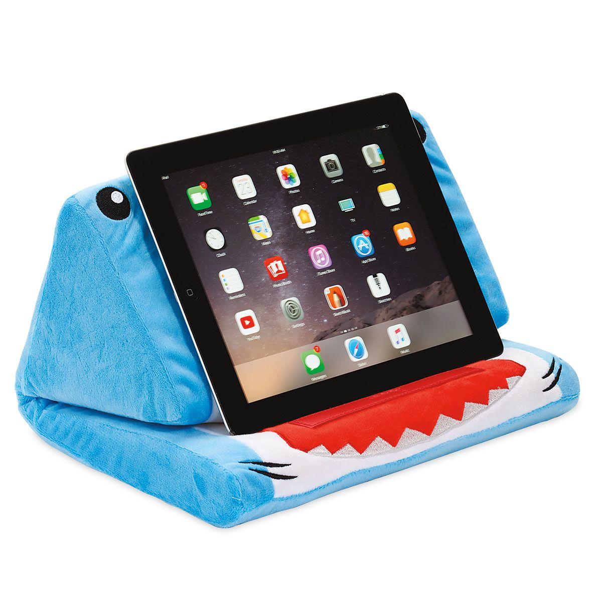 Plush Shark Tablet Holder