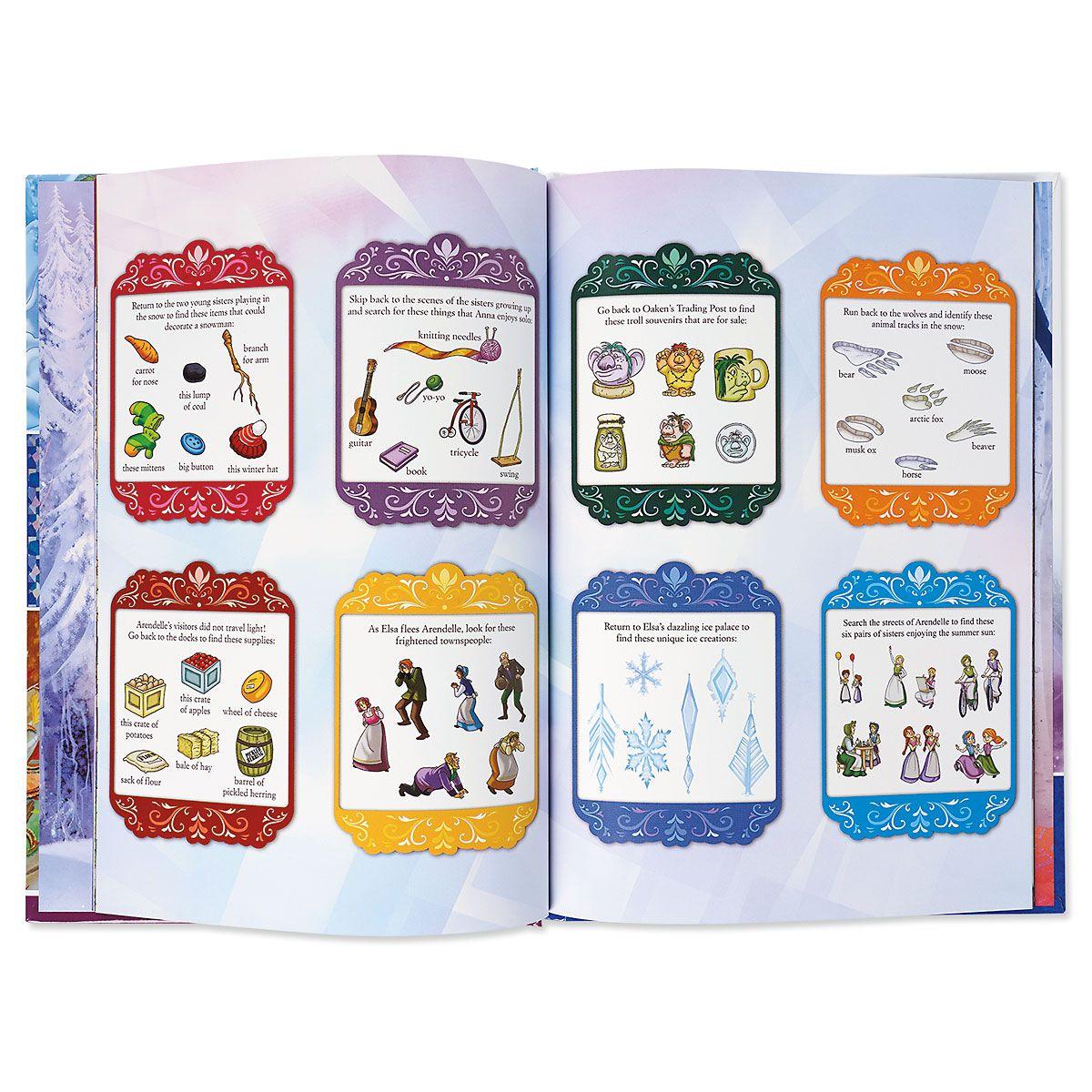 Disney Frozen Look & Find Book