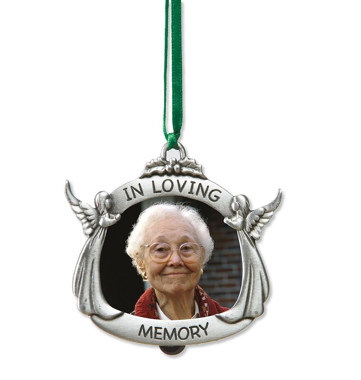 In Loving Memory Photo Frame Personalized Ornaments