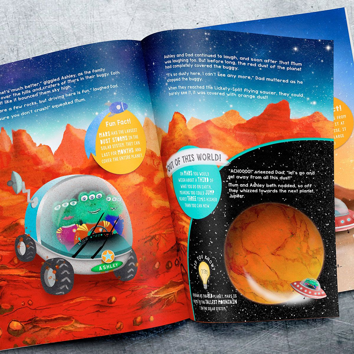 Space Personalized Storybook
