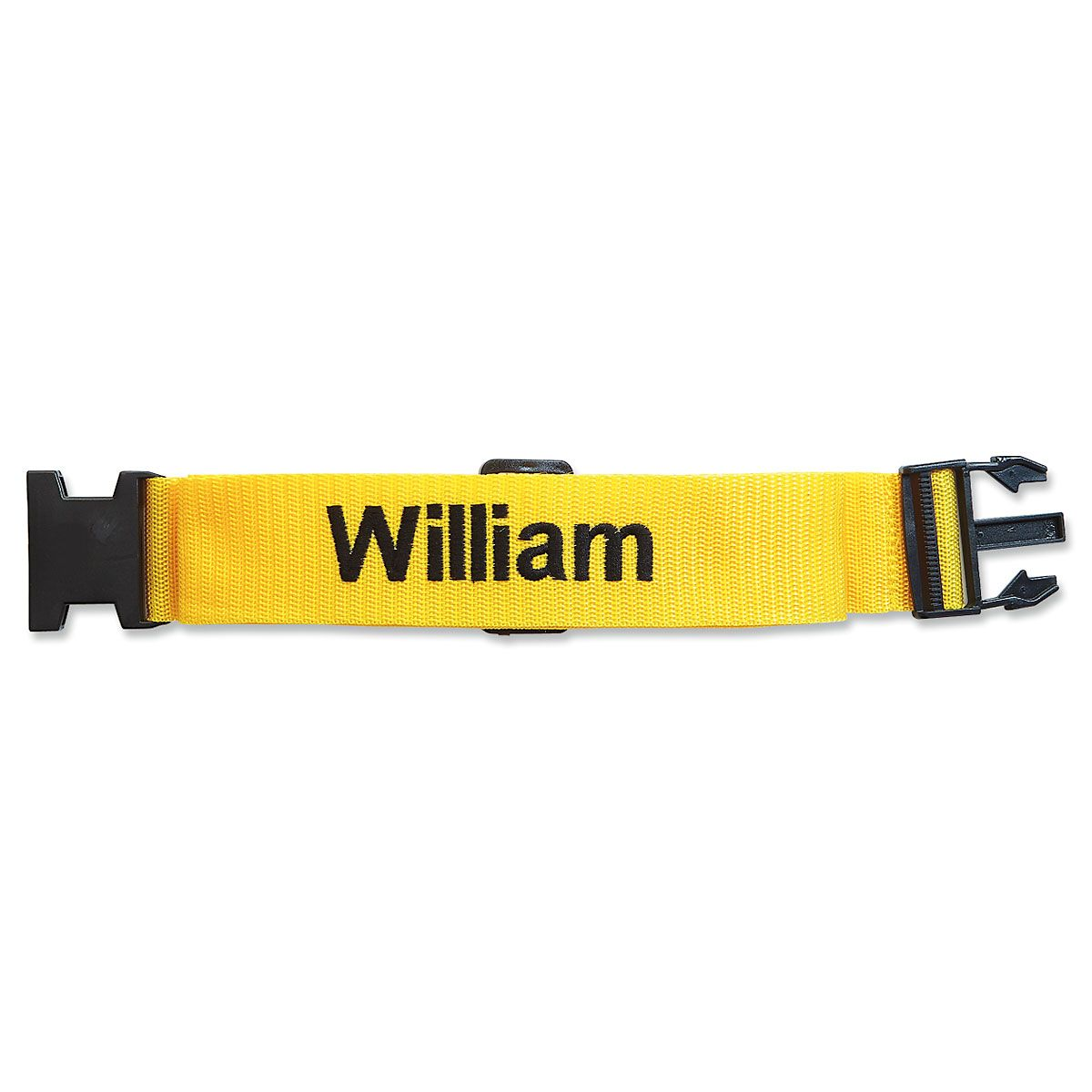 Personalized Luggage Strap - Yellow