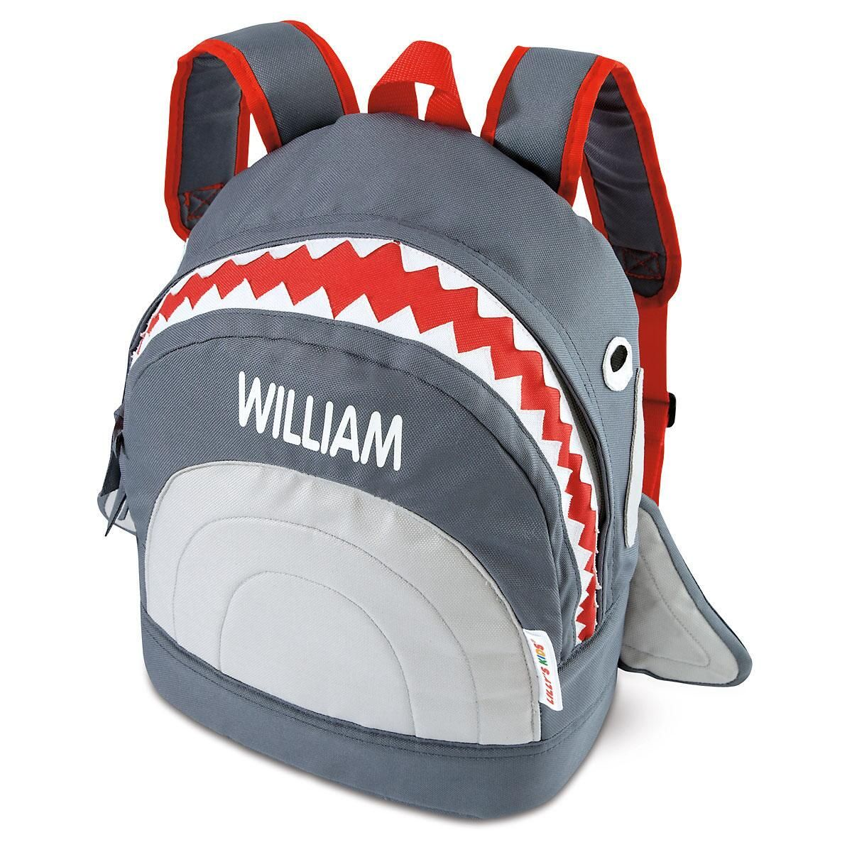 Grey Shark 3-D Backpack
