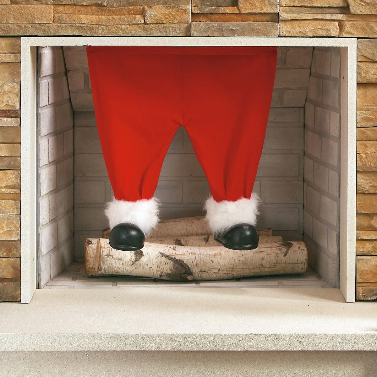 Santa Pants Decoration