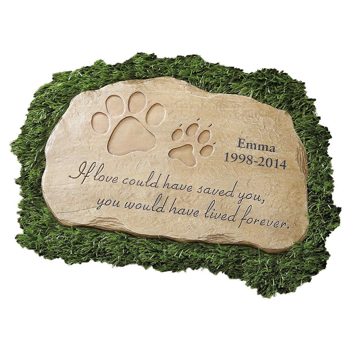 Pet Memorial Garden Stone