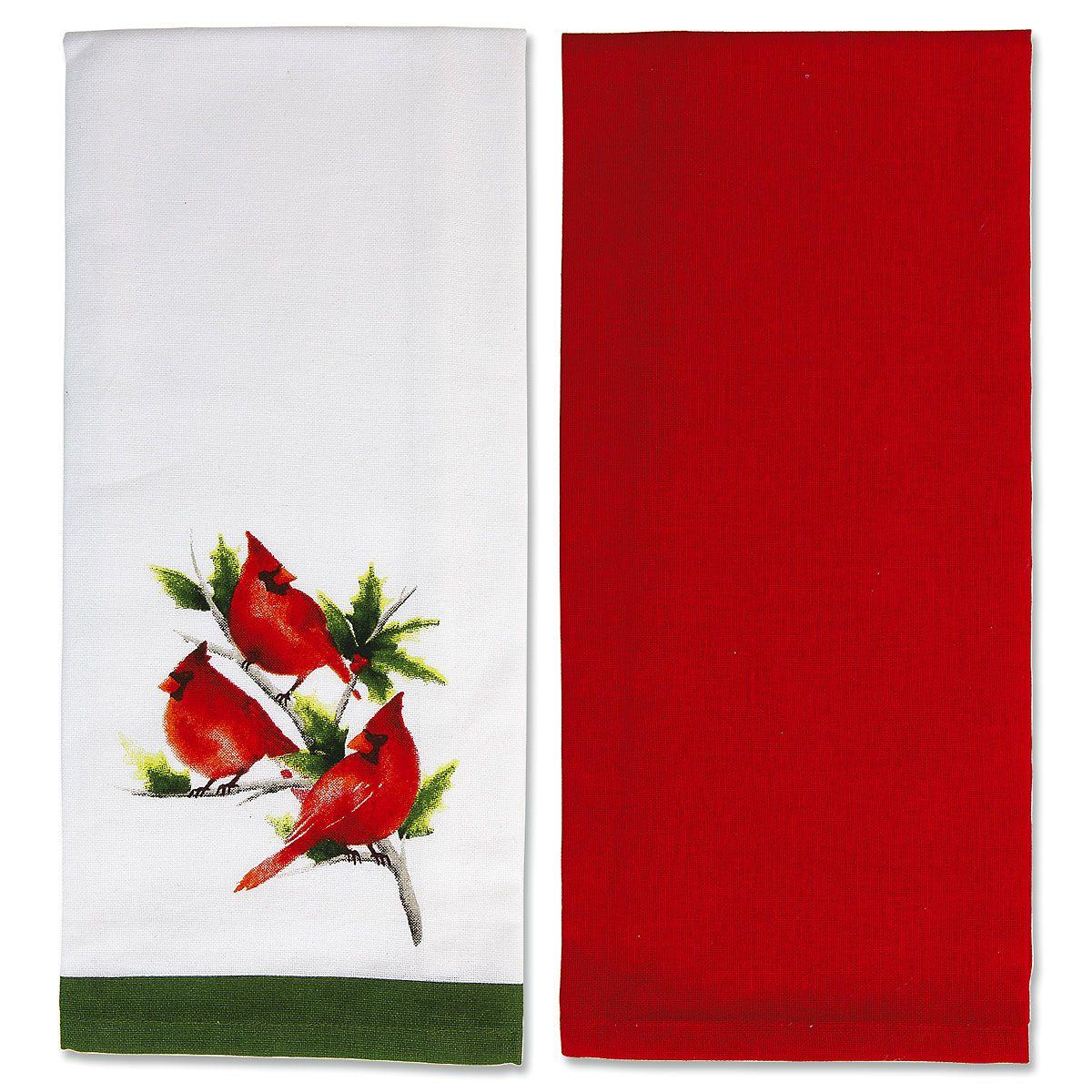 Cardinal Dish Towel Set