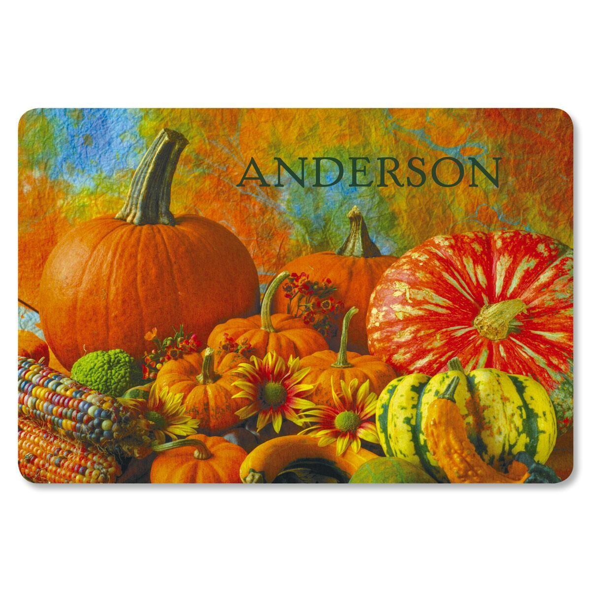 Beautiful Pumpkins Doormat
