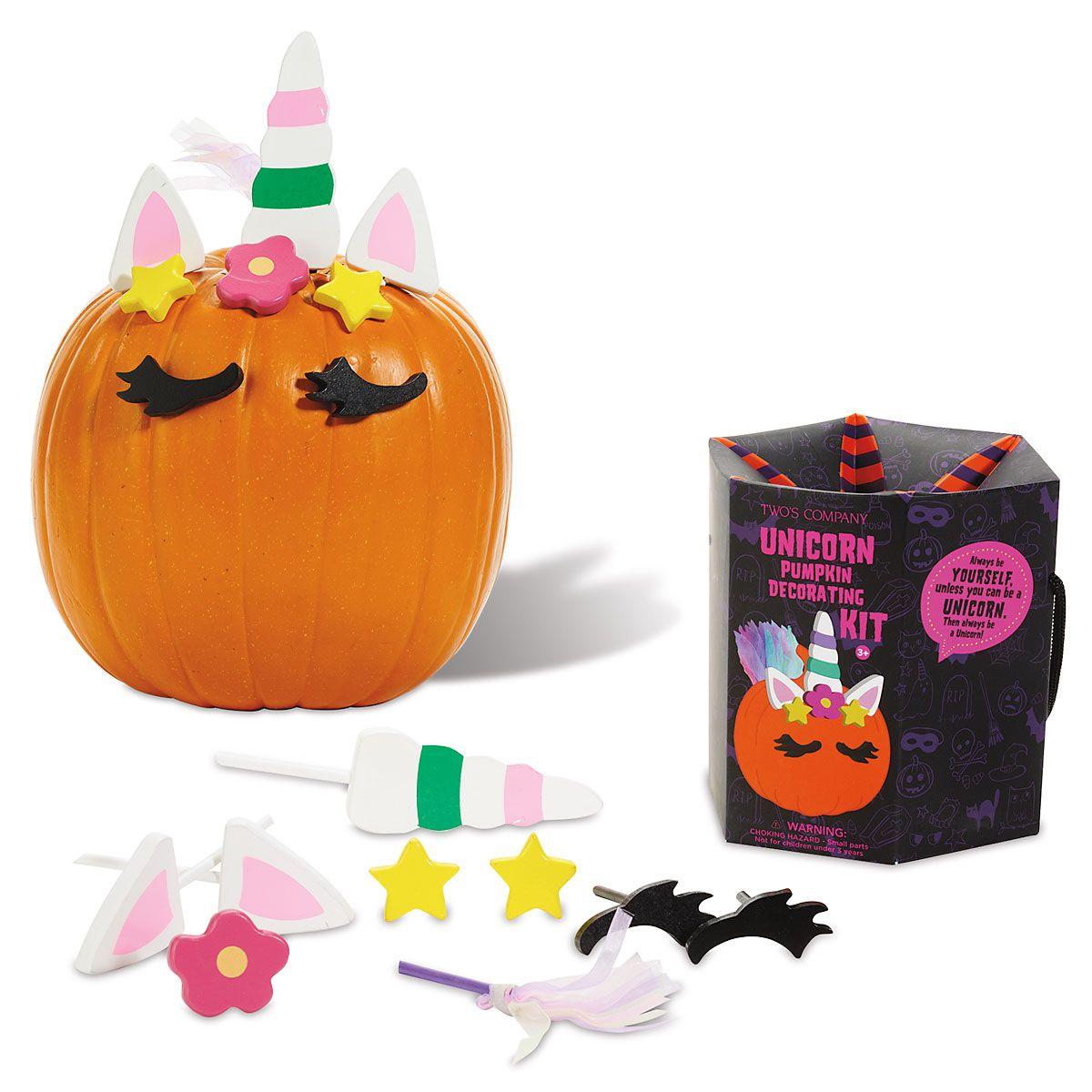 Decorate a Pumpkin Unicorn