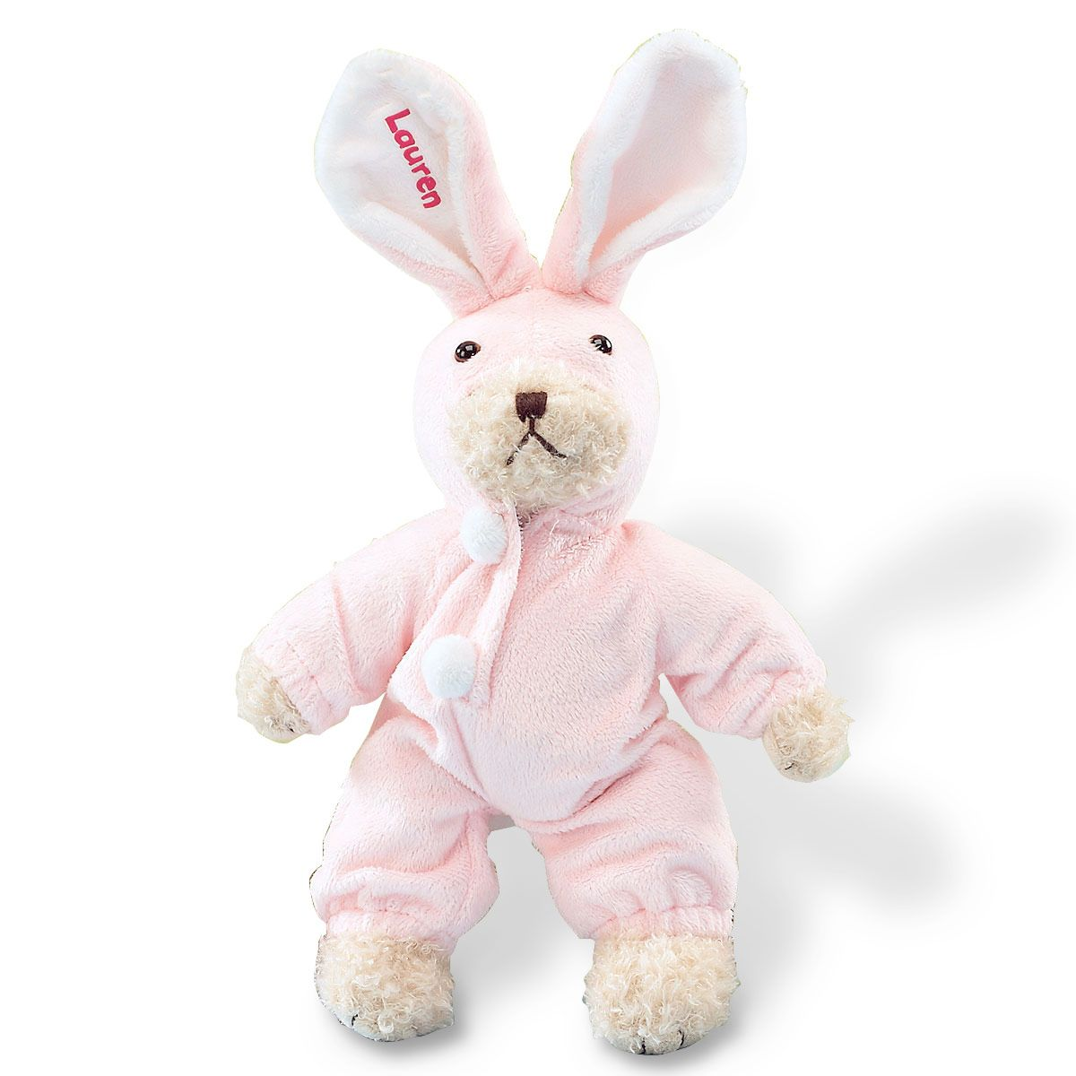 Pink Bear-ly Disguised Bunny