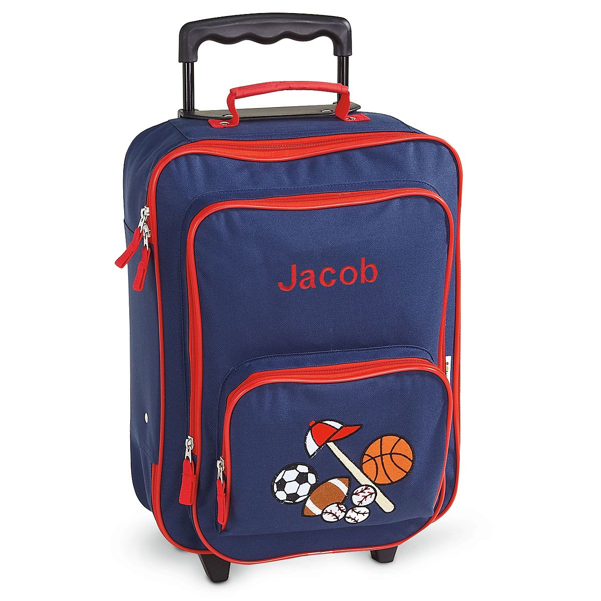 All Sports Personalized Rolling Luggage