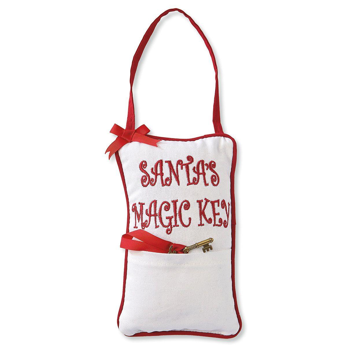 Santa's Magic Key Pillow