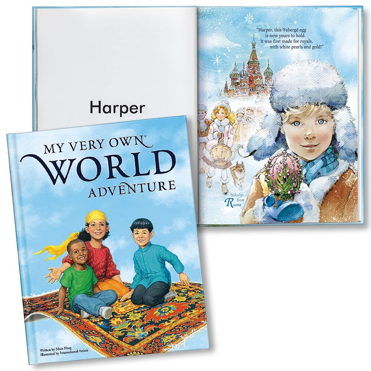 My Very Own® World Adventure Personalized Storybook
