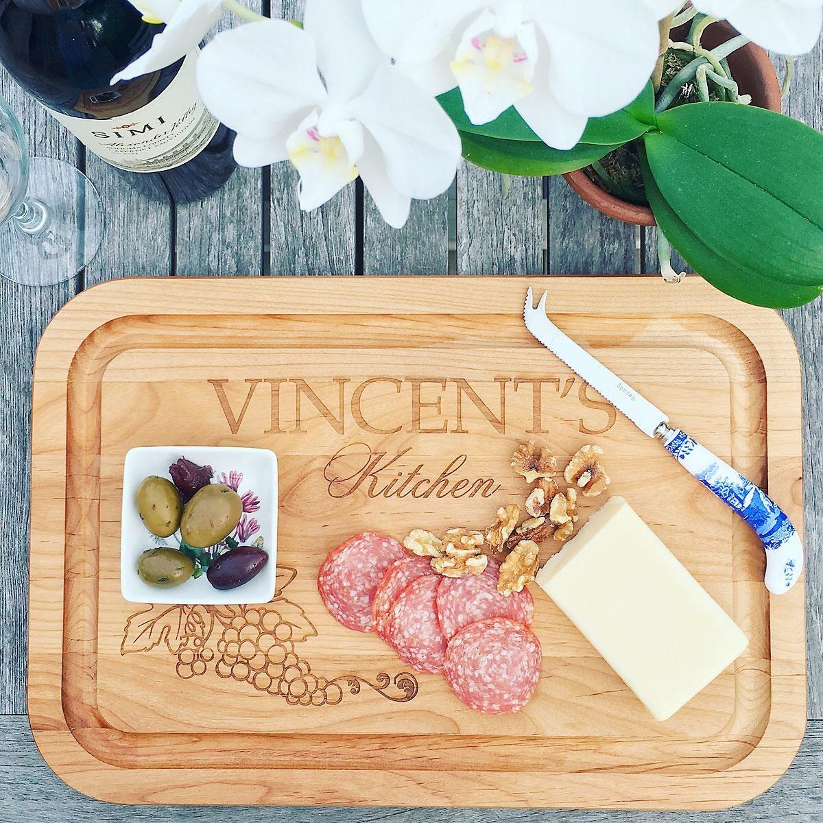 Vineyard Red Alder Cutting Board