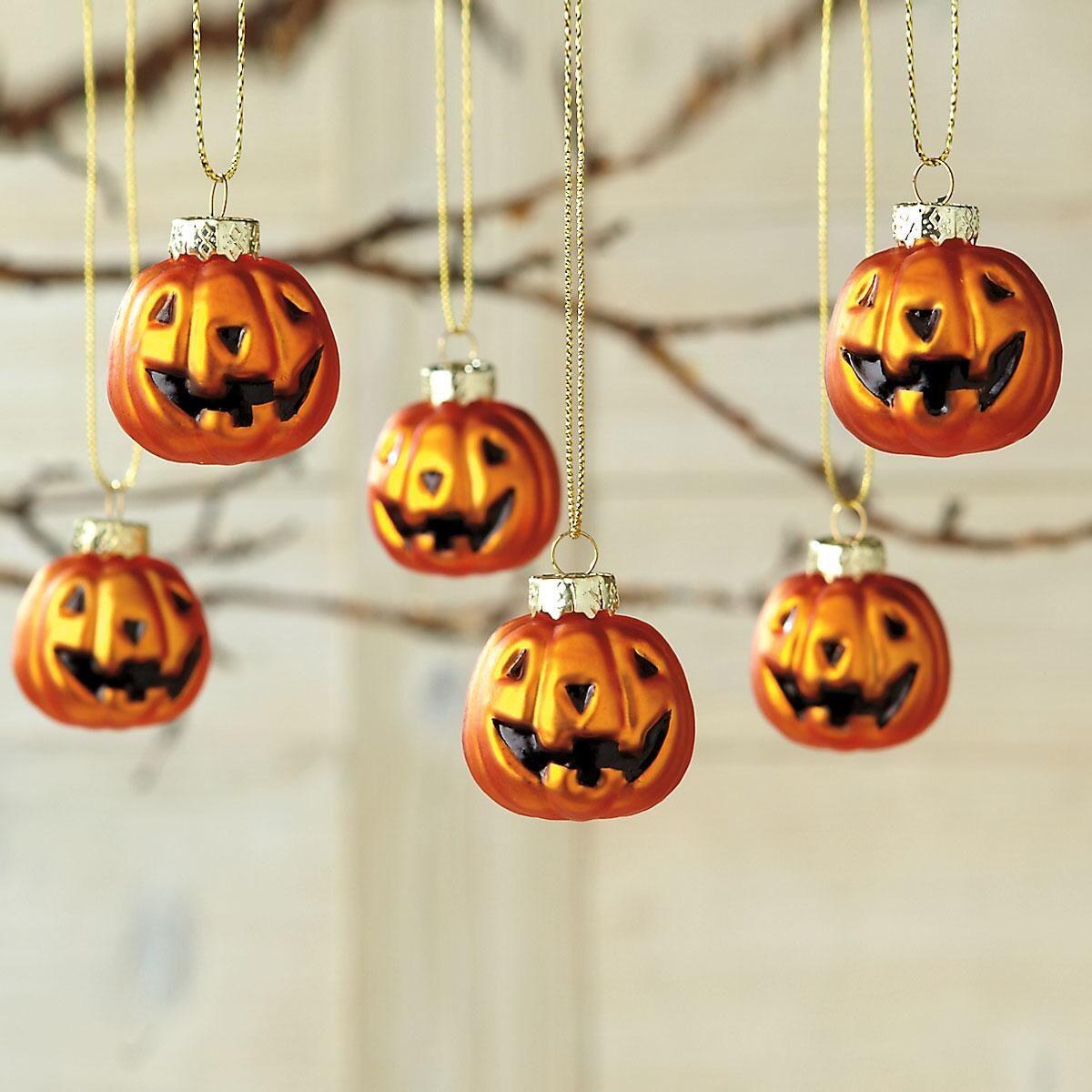 Jack-o'-lantern Ornaments