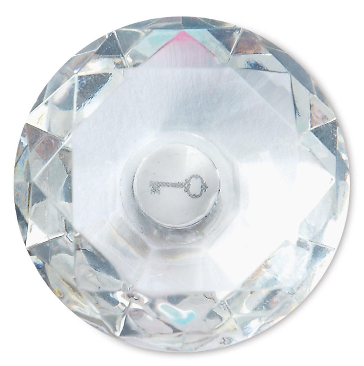 Clear Locker Gem Magnet