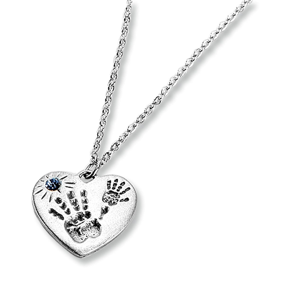 Mommy And Me Necklaces-Blue-814709B