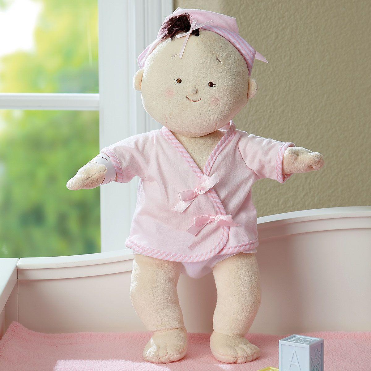 Rosy Cheeks Baby Girl Brunette Doll