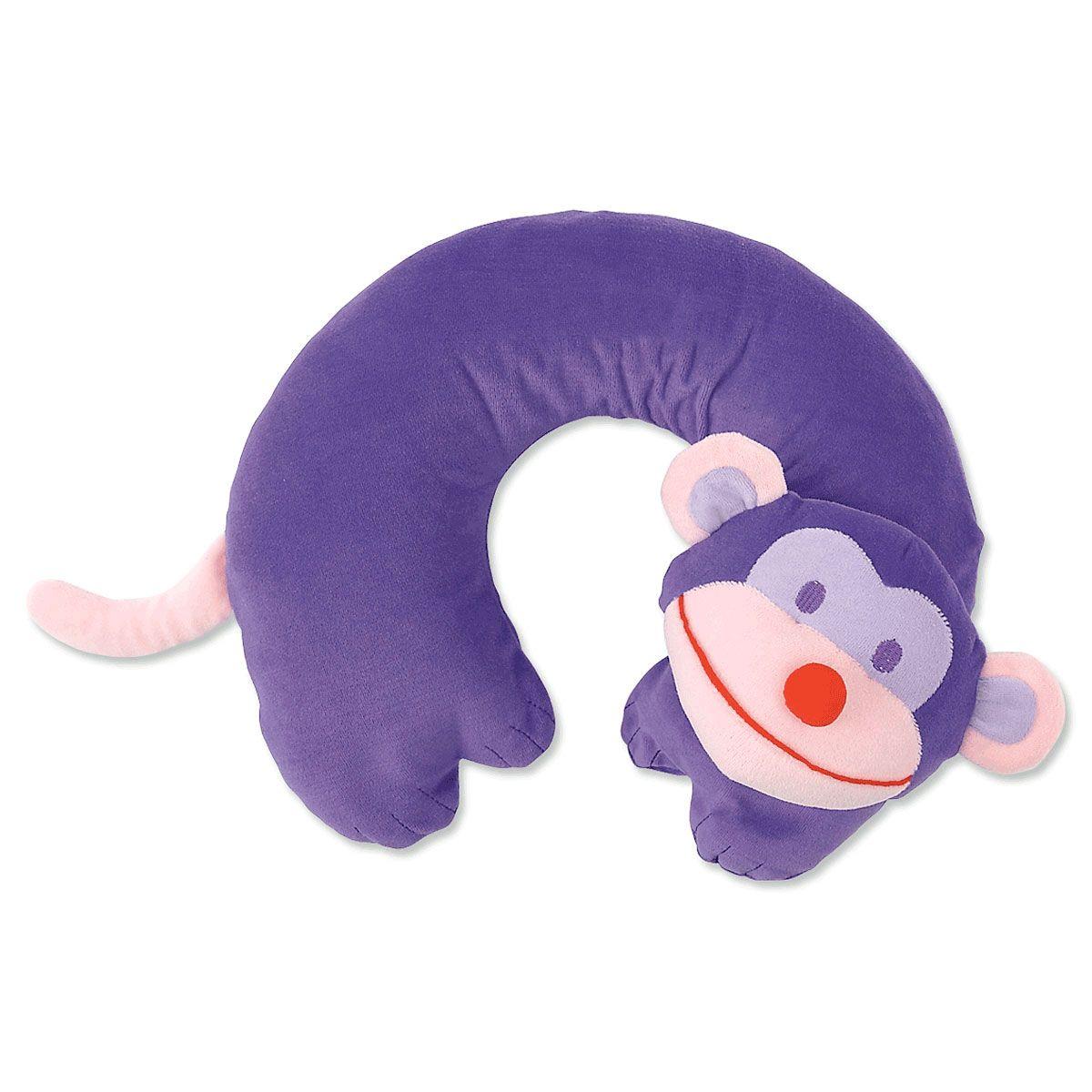 Kids Travel Pillows-Monkey