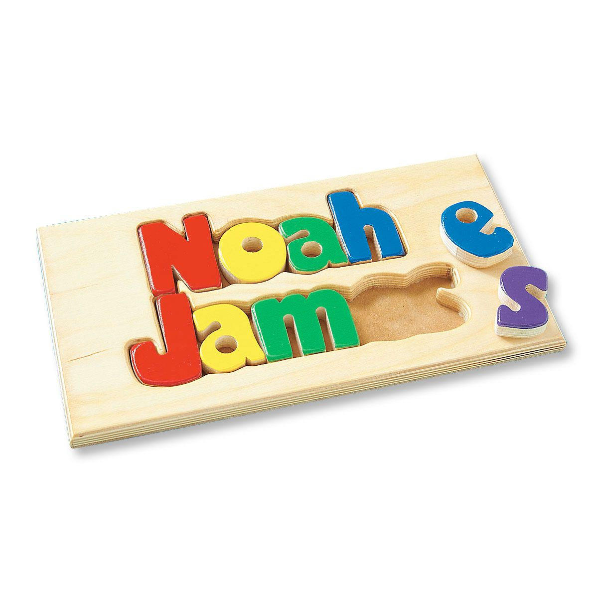 Personalized Double Name Board 1-8 Letters - Primary