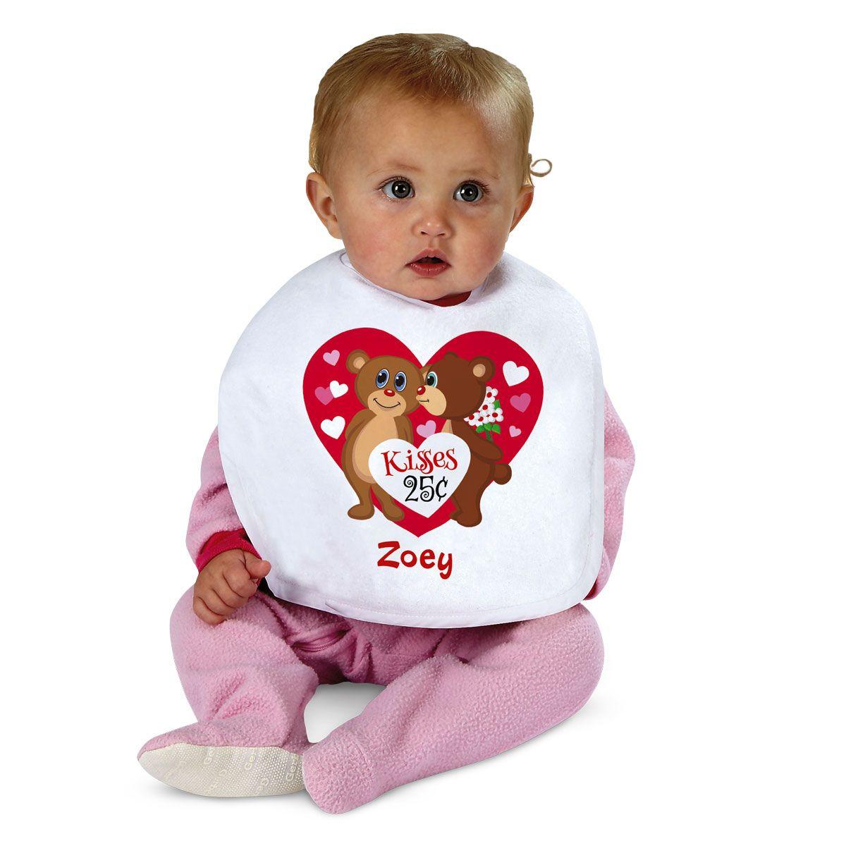 Personalized Valentine Bib