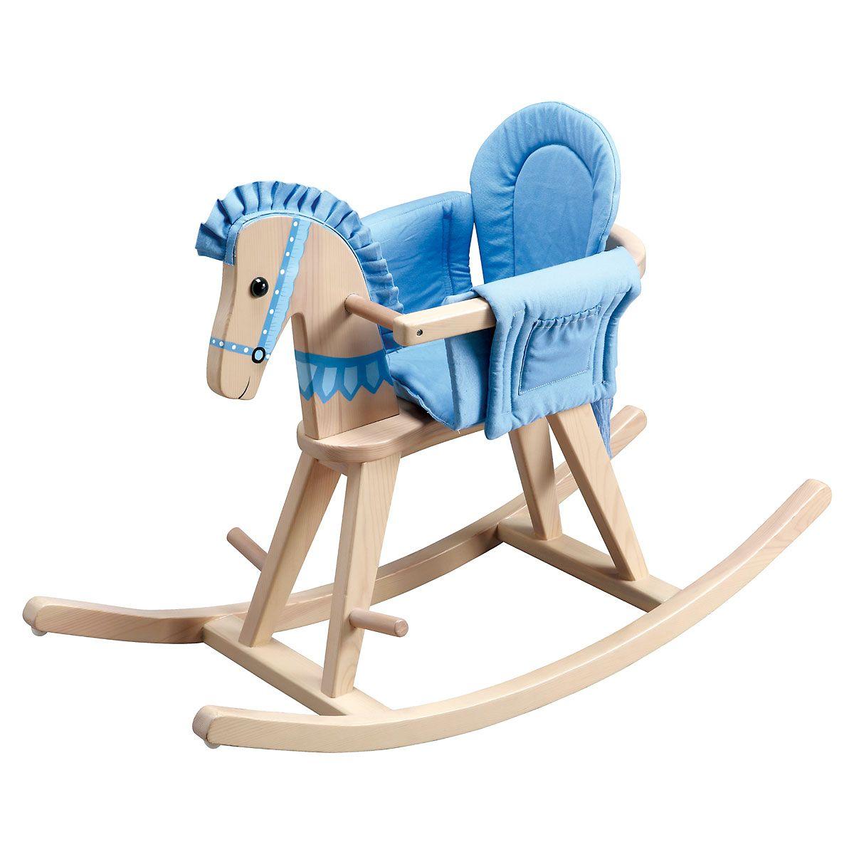Blue Safari Rocking Horse