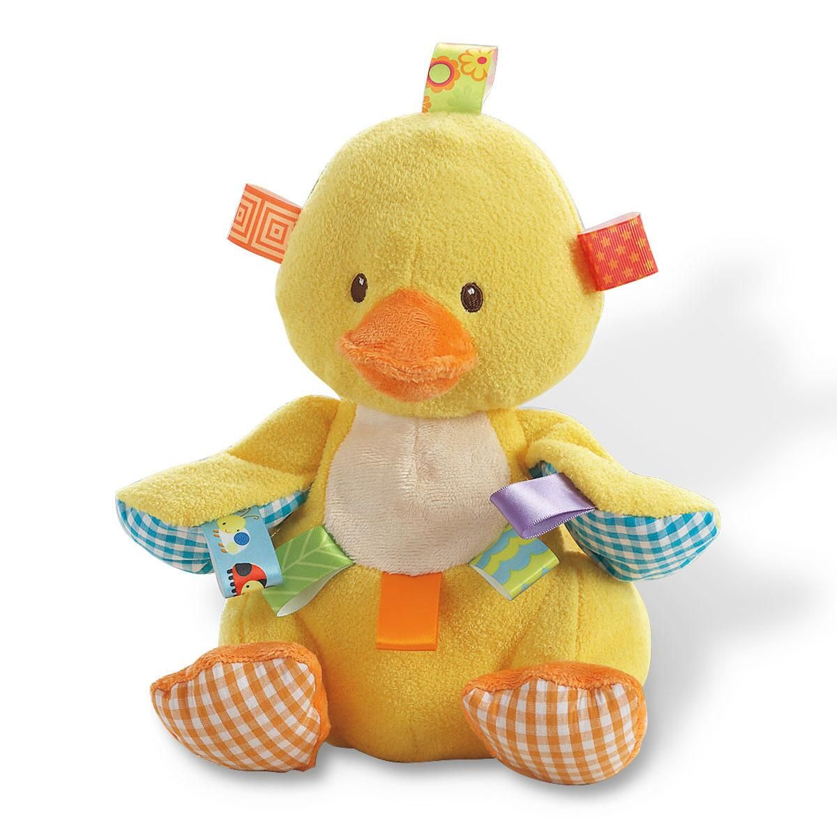 Taggies® Dipsy Plush Duck