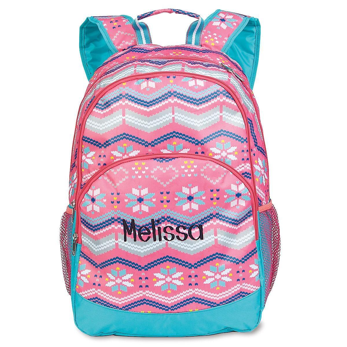 Fair Isle Backpack