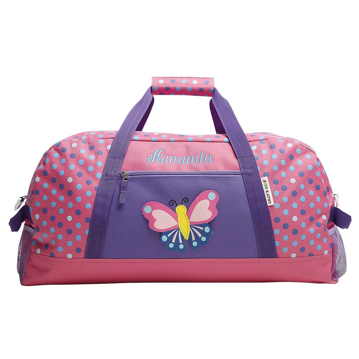 3-D Butterfly Duffel Bag