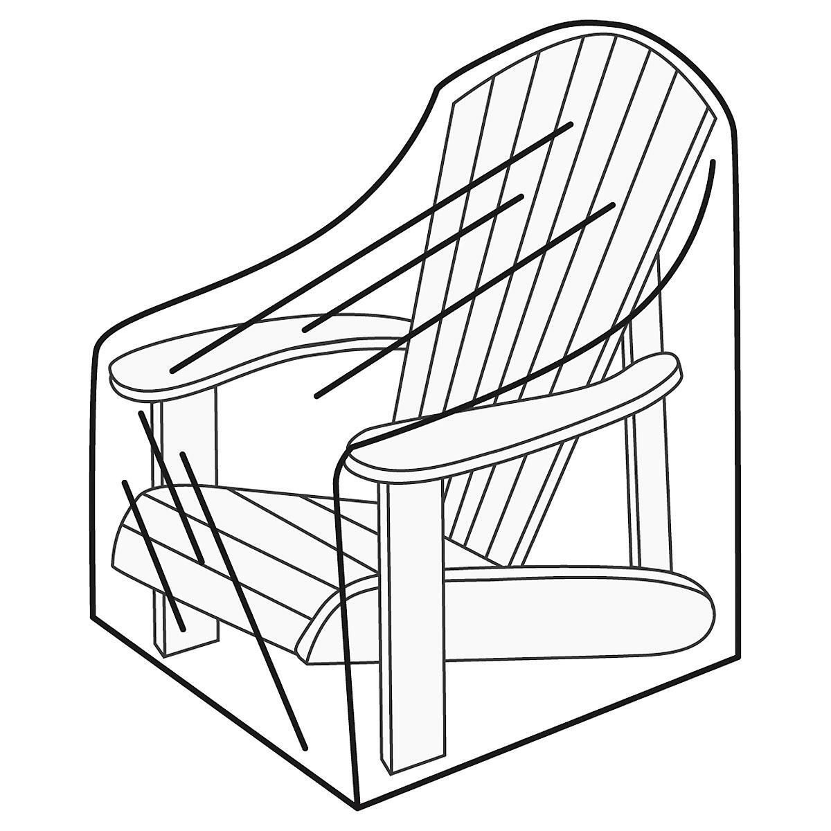 Adirondack chairs drawing - Adirondack Chair Cover