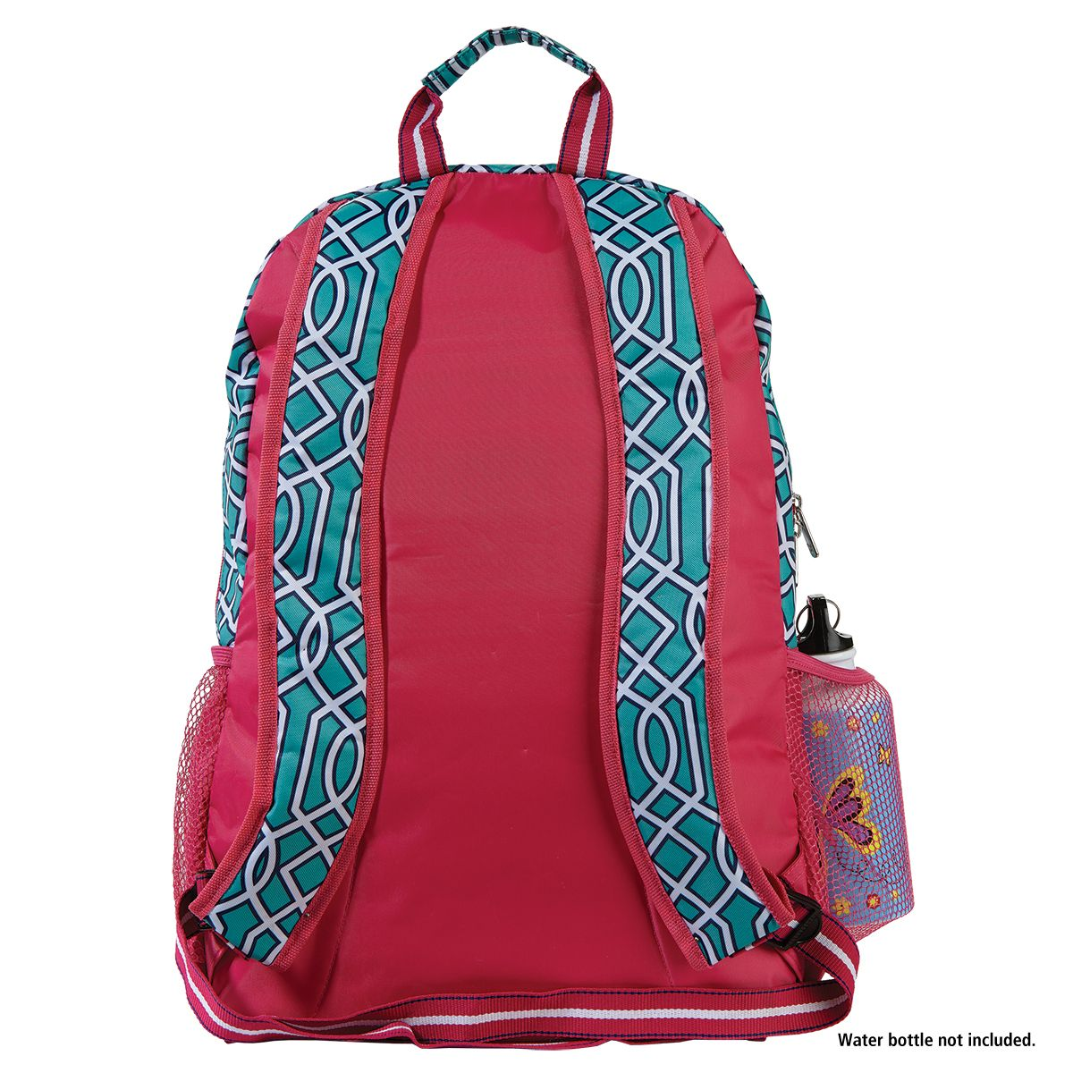 Turquoise Lattice Personalized Backpack