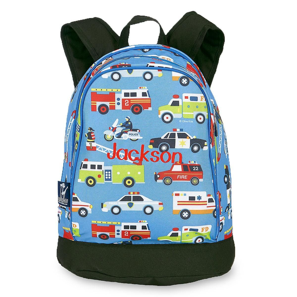 Heroes Personalized Backpack