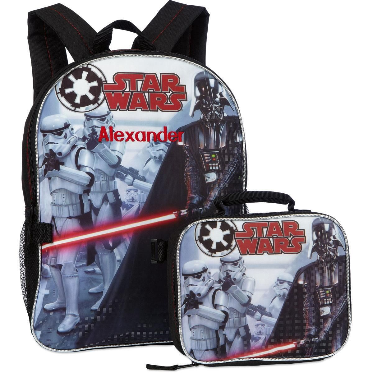 Star Wars® Backpack with Attached Lunch Bag