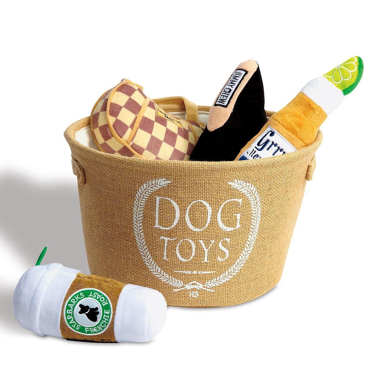 Dog Toy Bin by Harry Barker