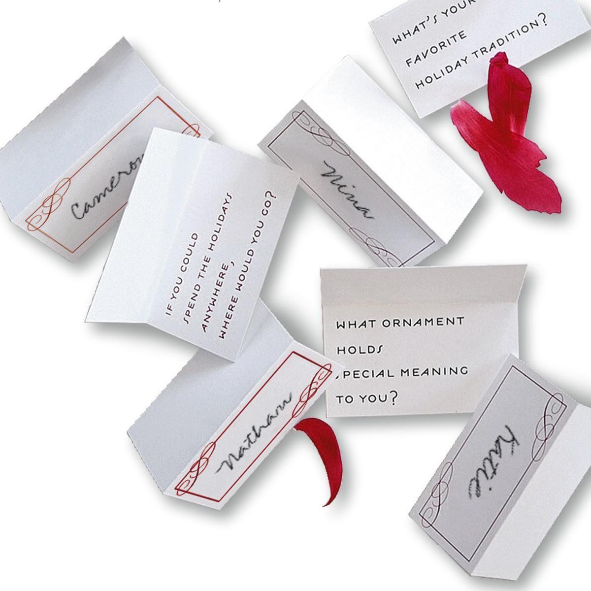 Conversation Place Cards