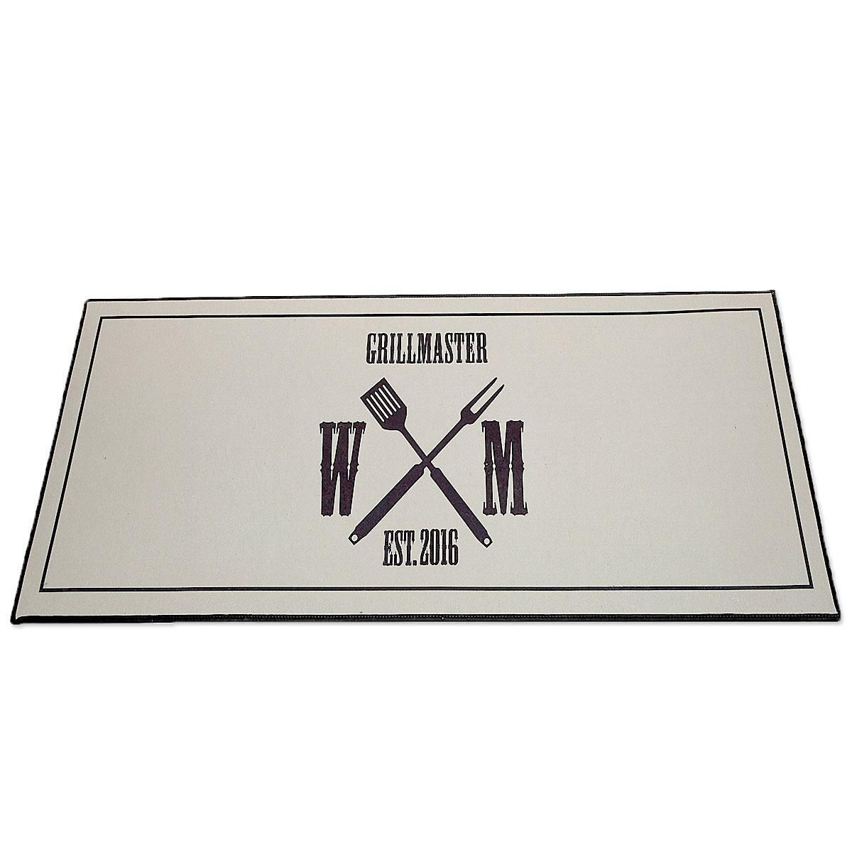 Grillmaster Personalized Doormat