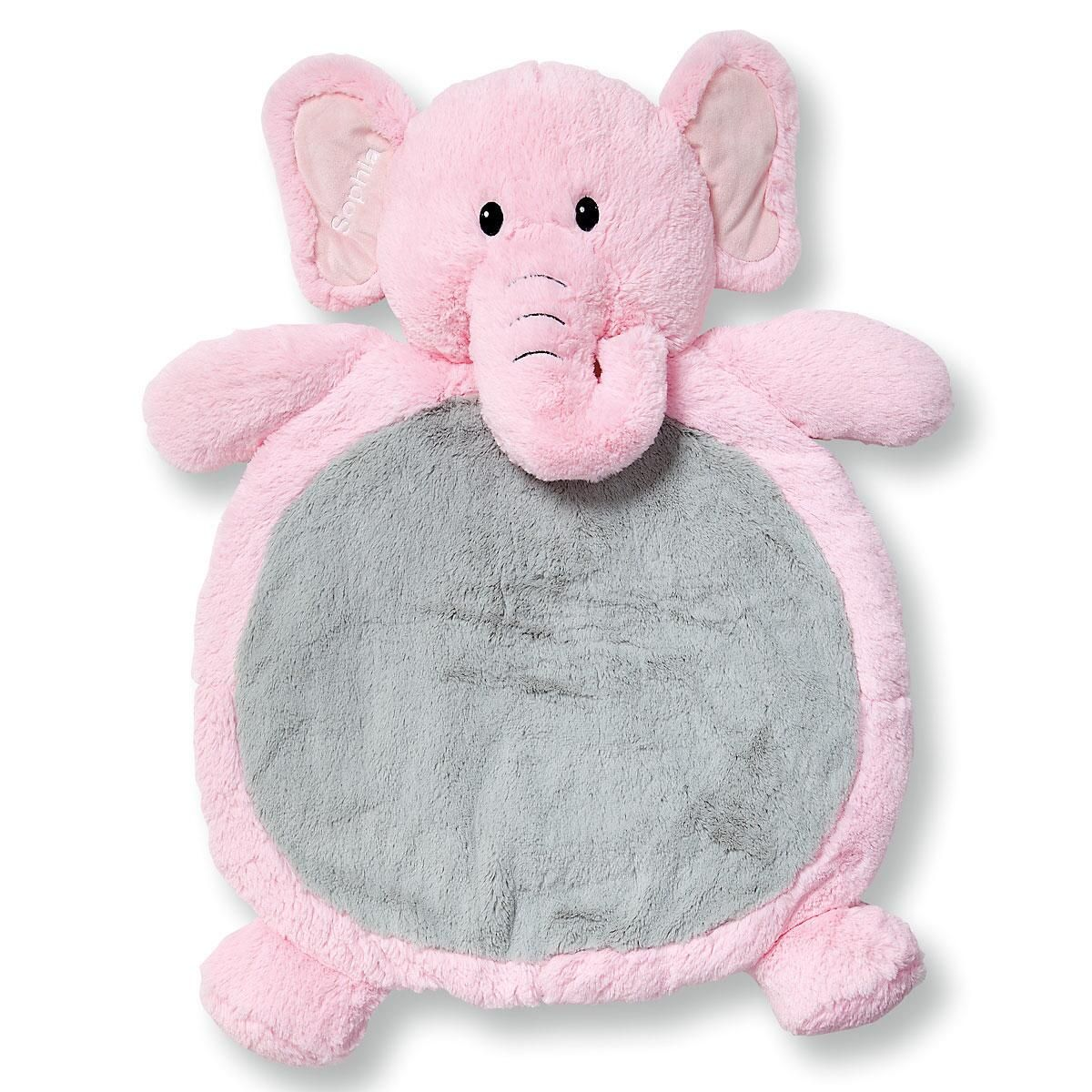 Pink Elephant Floor Cushion