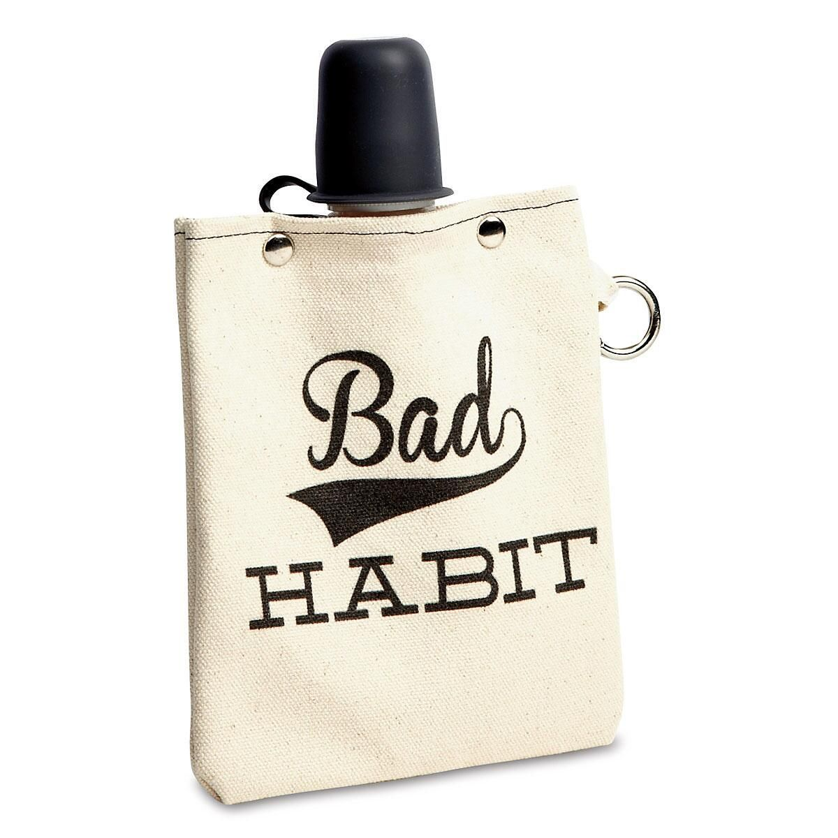 Bad Habit Flask by Tote & Able