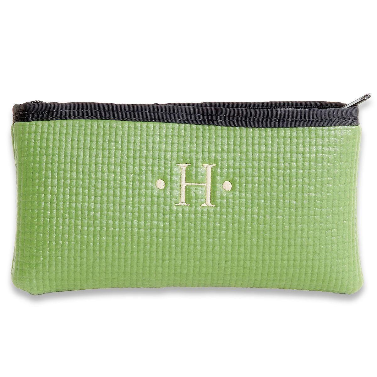 Mini Merle Green Cosmetic Bag