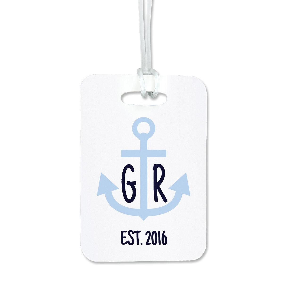 Anchor Luggage Tag