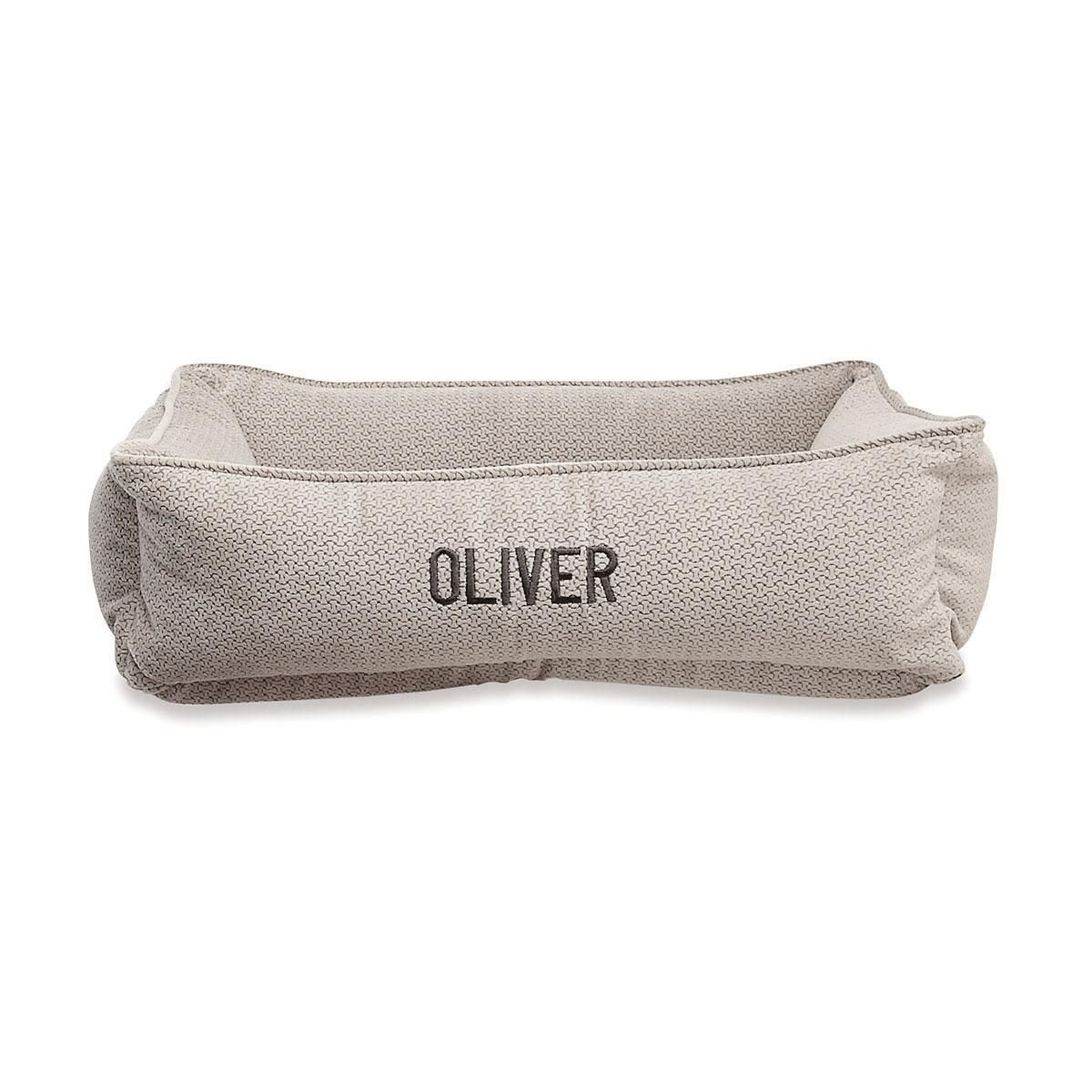Small Lounger Silver Treats Dog Bed by Bowsers Pet Products