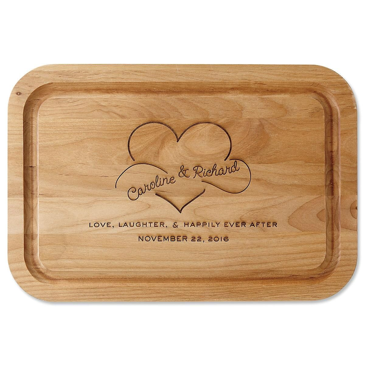 Happily Ever After Personalized Cutting Board