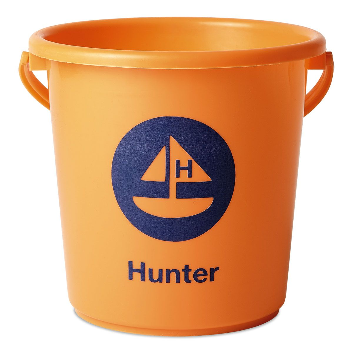 Personalized Beach Bucket-Orange-816451D