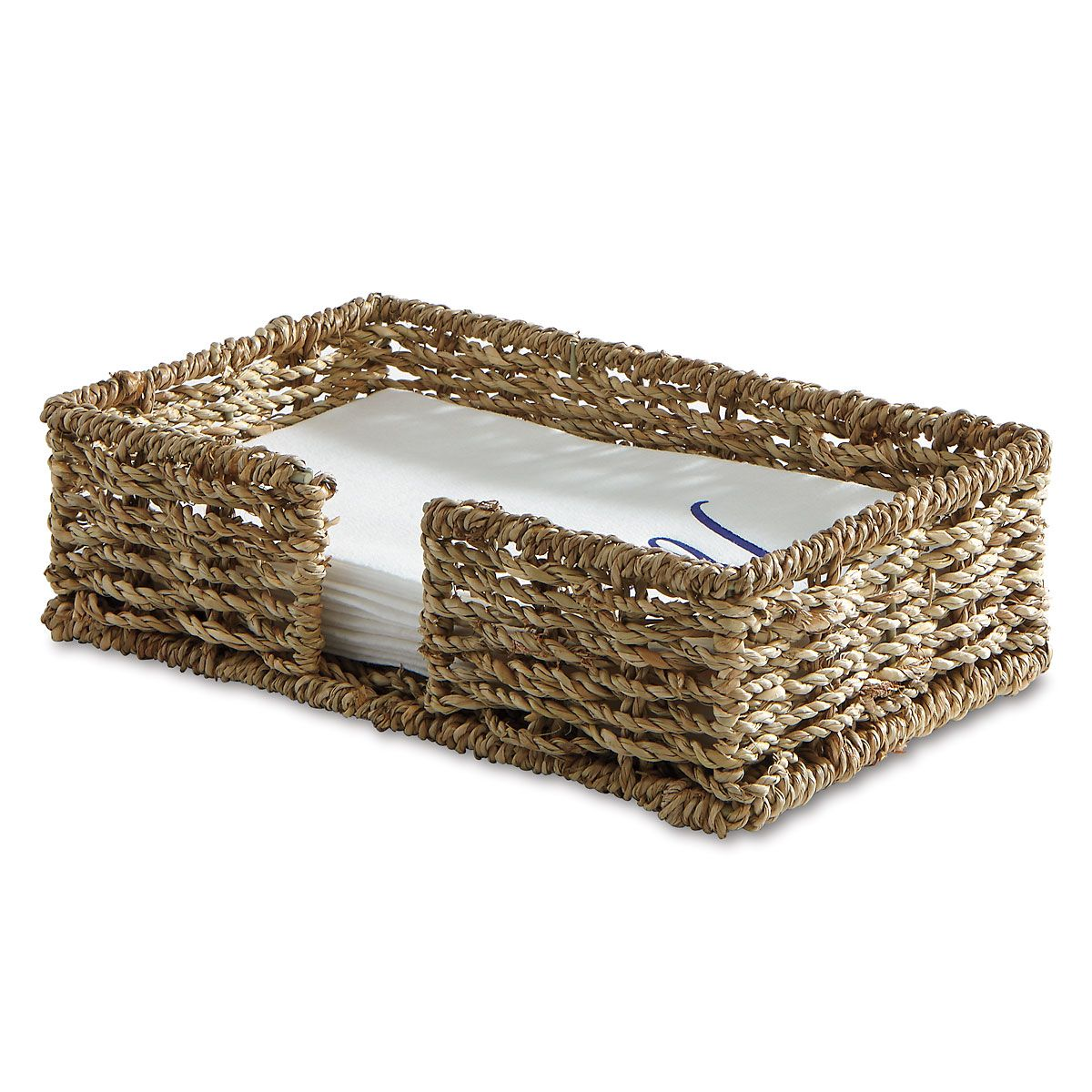 Sea Grass Guest Towel Napkin Holder
