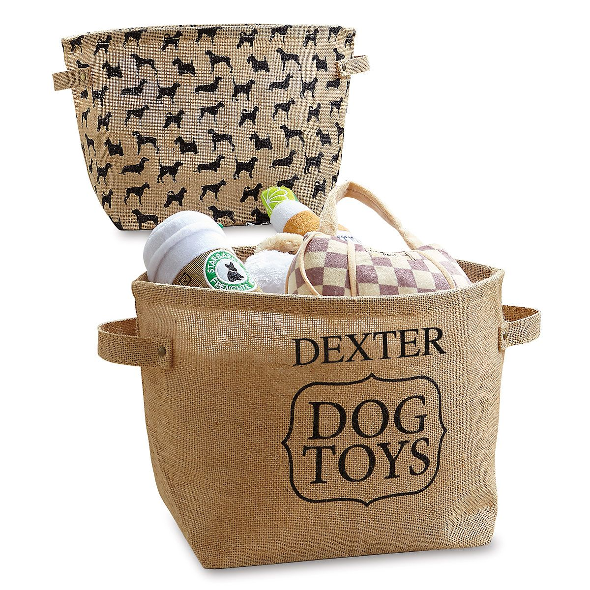 Dog Toy Bins by Mud Pie