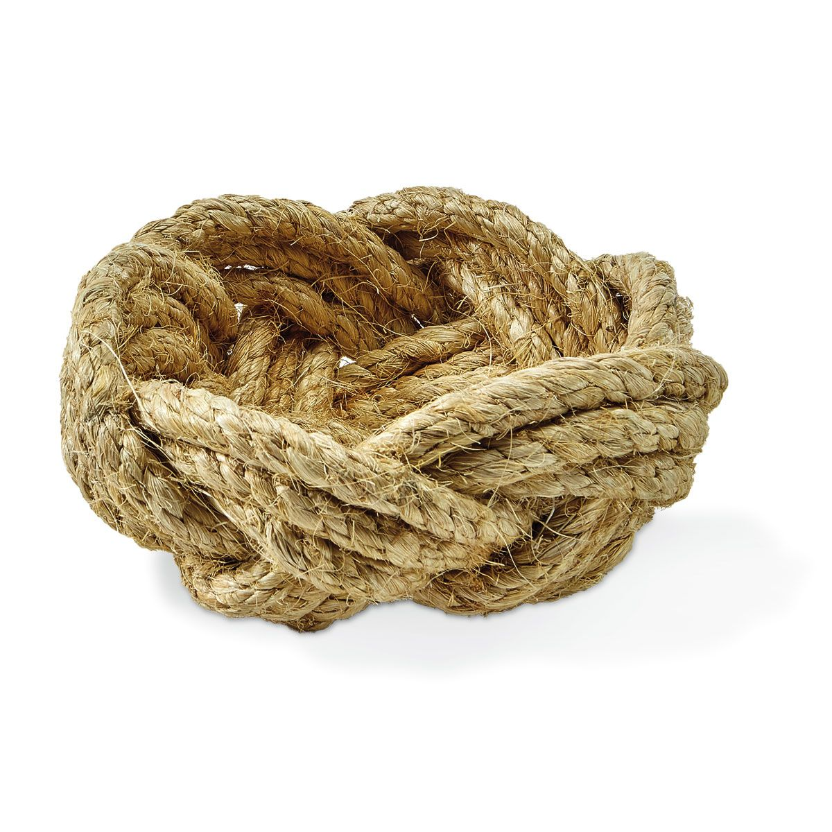 Small Rope Bowl by Two's Company