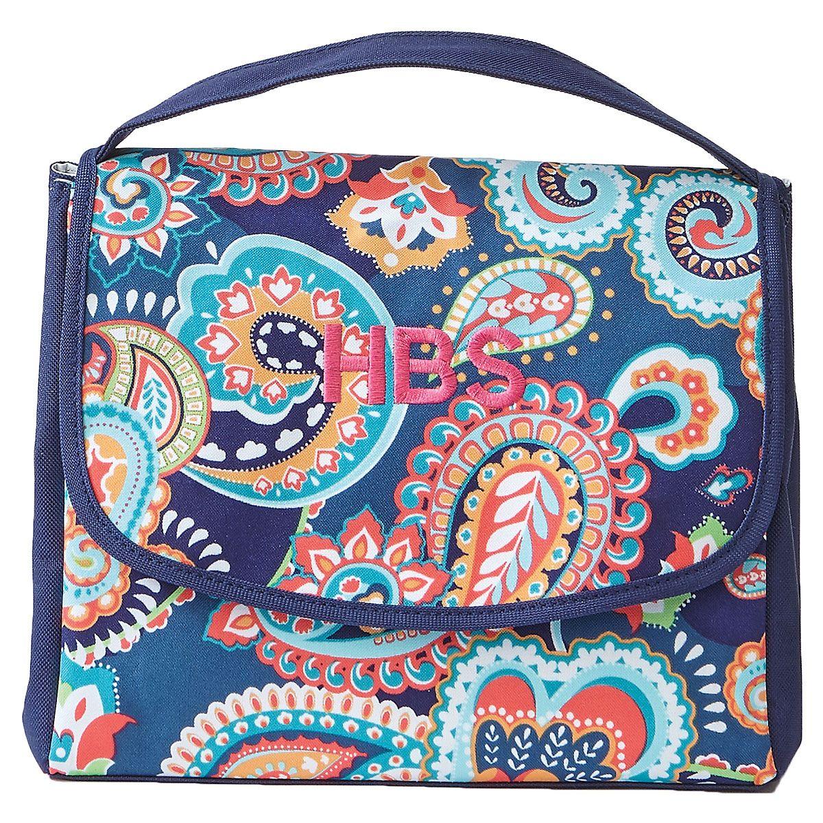 Emerson Blue Lunch Bag